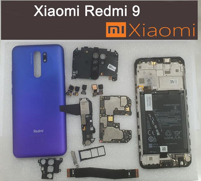 Замена микрофона разъёма usb основной платы для Xiaomi Redmi 9